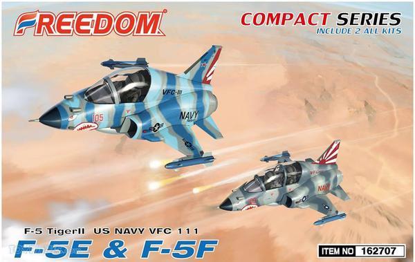 Northrop F-5E & F-5F Tiger VFC-111 (Compact Series) Include 2 All Kits #FDK162707