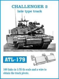 Challenger II Late Type Track Set (160 Links) #FRIATL179