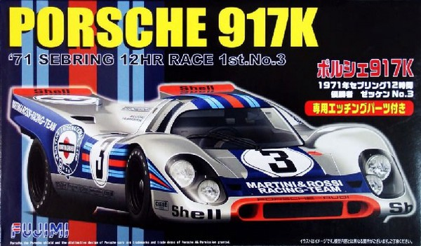 Porsche 917K Sebring 12-Hr Race Car (Re-Issue) #FJM12388