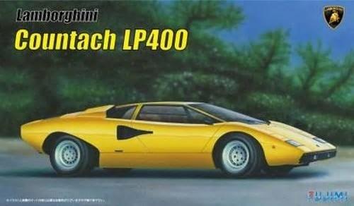 Lamborghini Countach LP400 Sports Car #FJM12654