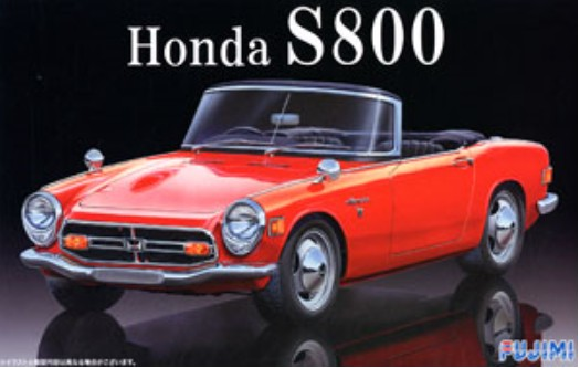 Honda S800 2-Door Convertible Car #FJM3898