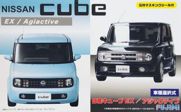 Nissan Cube EX/Adjuctive 4-Door MPV - Pre-Order Item #FJM3937