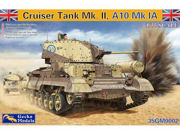 Cruiser A10 Mk IA/IIA Tank (New Tool) - Pre-Order Item #GKO35002