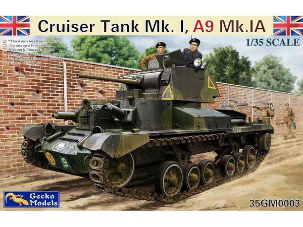 Cruiser Tank Mk.I, A9 Mk.IA - Pre-Order Item #GKO35003