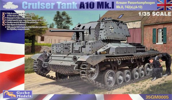 Cruiser Panzerkampfwagen A10 Mk I/II 742(e) - Pre-Order Item #GKO35005