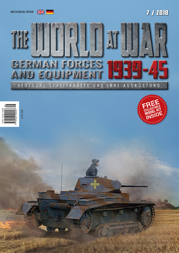 Pz.Kpfw.II Ausf.B - German Forces and Equipment - Issue 7 #GPWAW007