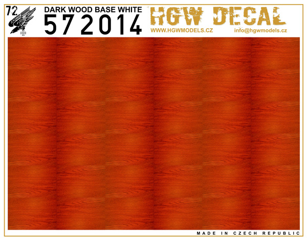 Dark Wood - Natural - base white - sheet: A5 #HGW572014