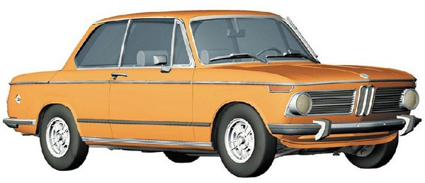 BMW 2002ti Sedan Car (Ltd Edition) #HSG20354