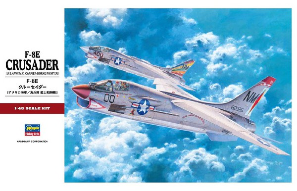F-8E Crusader USN Fighter (Re-Issue) - Pre-Order Item #HSG7225