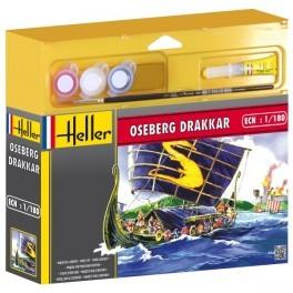 Drakkar Viking Ship w/Paint & Glue #HLR49056