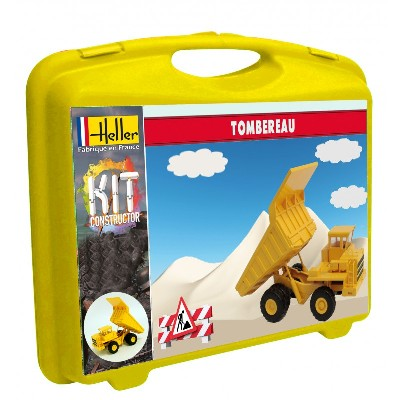 Dump Truck w/Paint & Glue in plastic carrying case #HLR63001