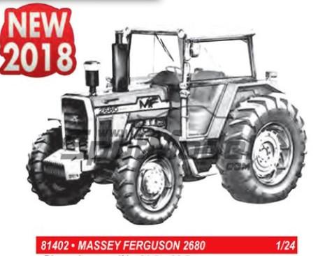 Massey Ferguson 2680 Farm Tractor #HLR81402