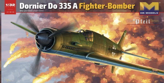 German Do.335A Fighter/Bomber #HKM01E08