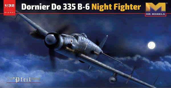 Do.335B-6 Night Fighter #HKM01E021