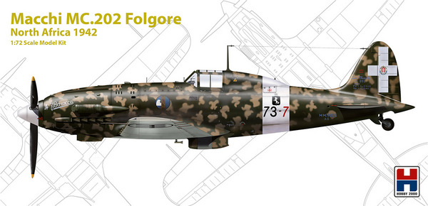 Macchi MC.202 Folgore North Africa 1942 #HOB272006