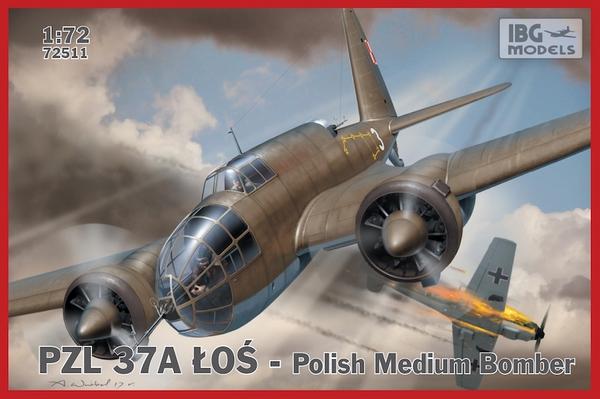 PZL37A Los Polish Medium Bomber (New Tool) #IBG72511