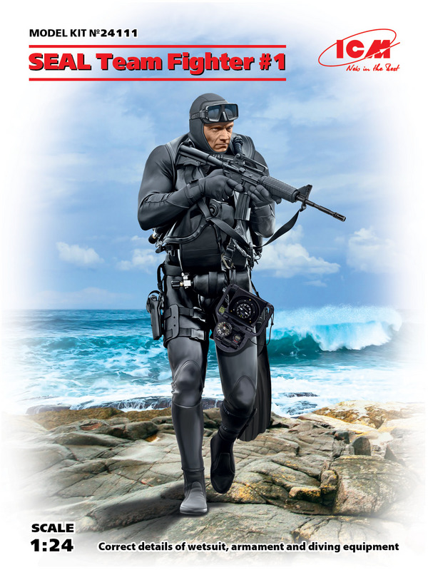 SEAL Team Fighter #1 (New Tool) #ICM24111