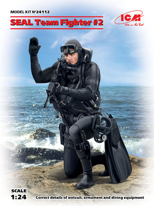 SEAL Team Fighter #2 (New Tool) #ICM24112