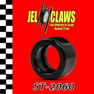 1/64 Jel Claws Rubber Racing Tires for AFX Super G+ (rear) (10) #IHS2060