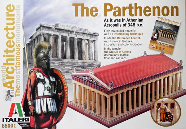 The Parthenon, Athenian Acropolis 348BC #ITA68001
