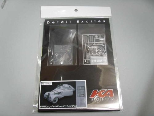 BMW 327 DETAIL-UP ETCHED PARTS (designed to be used with Hasegawa kits) #KE-48001