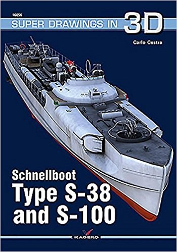 Super Drawings 3D: Schnellboot Type S38 & S100 #KAG16056