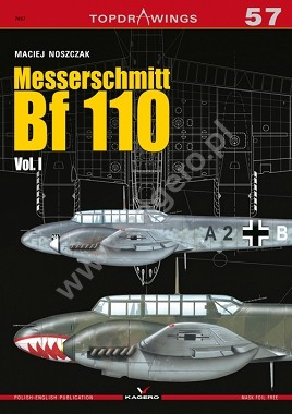 Topdrawings: Messerschmitt Bf.110 Vol.1 #KAG7057
