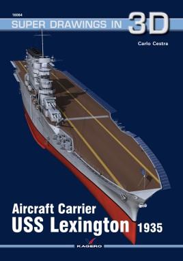 Aircraft Carrier USS Lexington 1935  #KAG7516