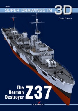The German Destroyer Z37  #KAG7662