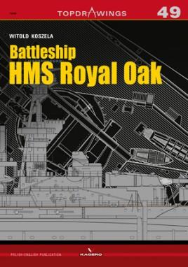 Battleship HMS Royal Oak  #KAG7686