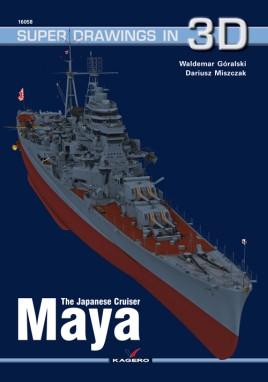 The Japanese Cruiser Maya  #KAG7877