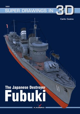 The Japanese Destroyer Fubuki   #KAG7945