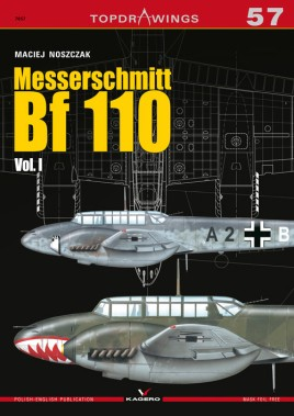 Messerschmitt Bf.110 Vol. I #KAG7990
