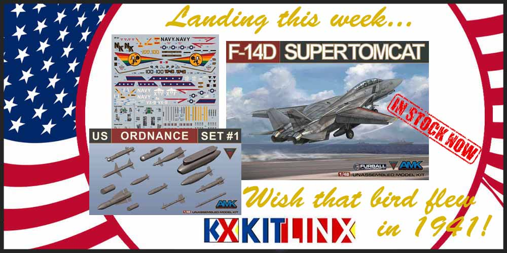 AGK88007 1/48 AMK F-14D Super Tomcat