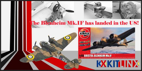 Airfix NEW 1/48 Blenheim Mk.IF