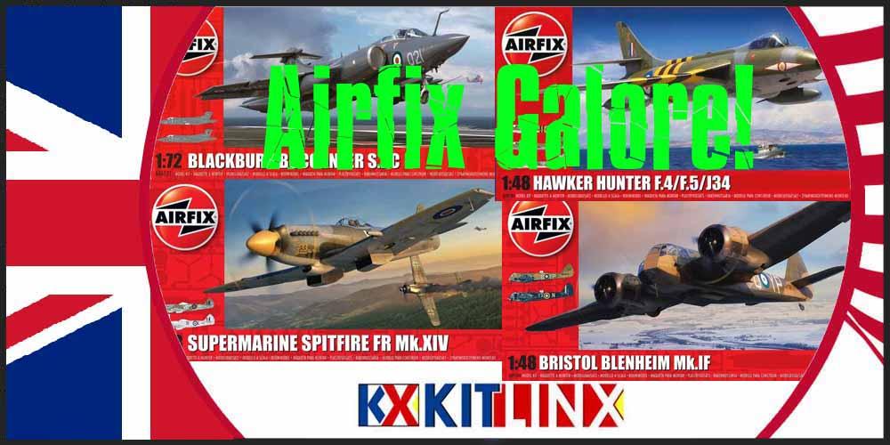 Airfix Galore at Kitlinx