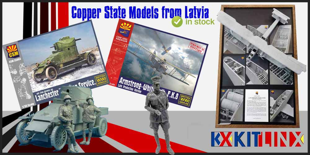 Copper State Models in stock