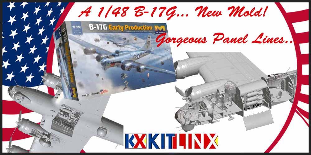 New 1/48 B-17G