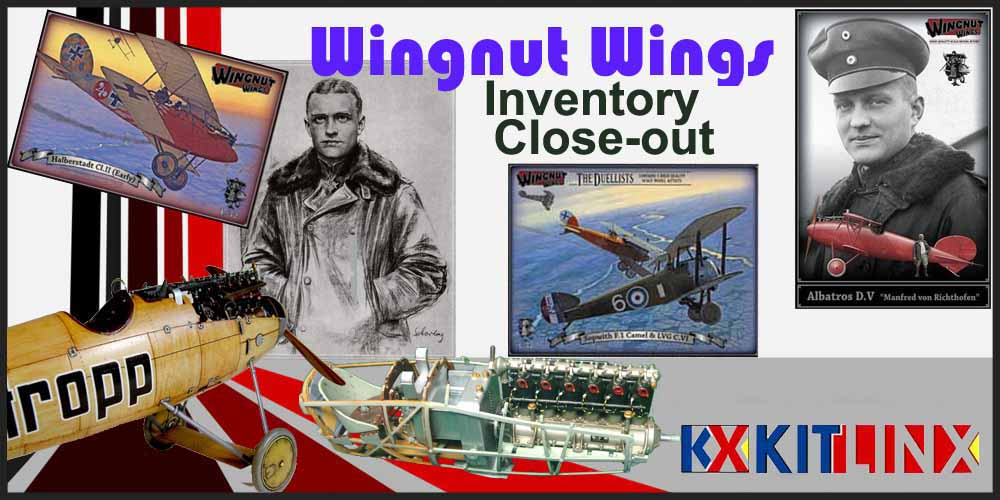 Wingnut Wings NEW