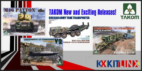 Takom NEW Releases
