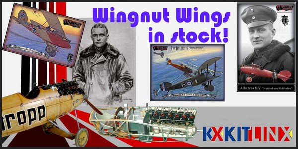 Wingnut Wings in stock