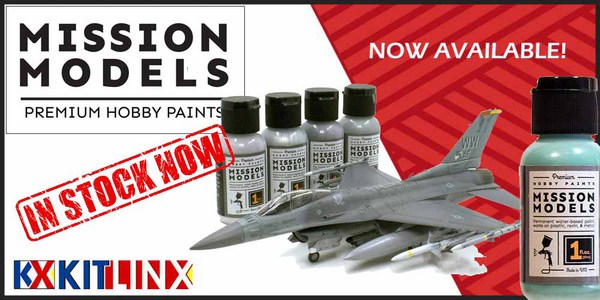 Mission Models fully in stock at Kitlinx.com