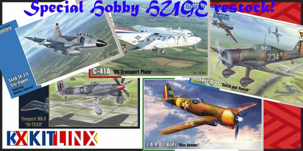 NEW Special Hobby kits from Czech Republic