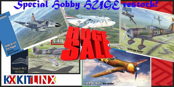 SALE on Special Hobby kits from Czech Republic