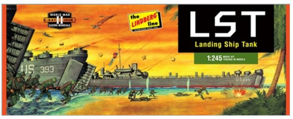 WWII Landing Ship Tank (LST) #LND213