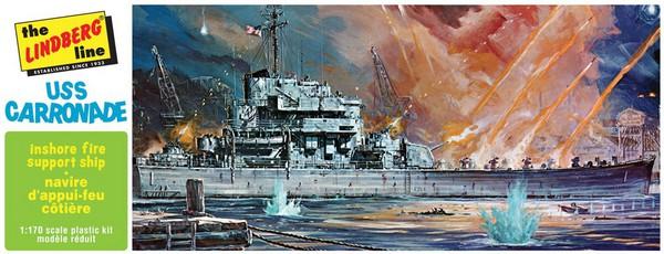 USS Carronade Inshore Fire Support Ship #LND403