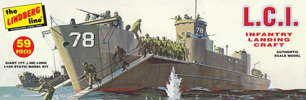 LCI Infantry Landing Craft #LND404
