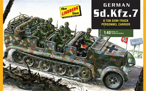 German Sd.Kfz7 8-Ton Halftrack #LND416