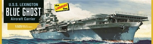 USS Lexington Blue Ghost Aircraft Carrier #LND436