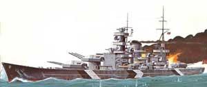 Scharnhorst German Battleship #LND70862